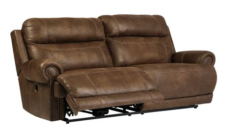 Two Seat Recliner Sofa by Austere Brown 2 Seat Reclining Power Sofa 3840047 Reclining Power Sofa Price Busters