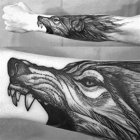 gambar tato serigala keren terbaru  gambar tips