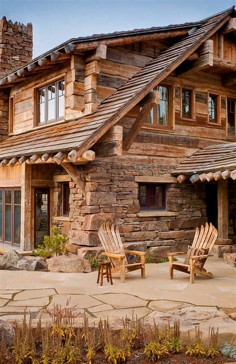 stone and wood homes this is how i want my house all wood and rock stone i