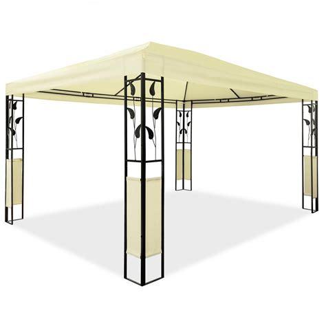 Pavillon Metall 3x4 pavillon 3 x 4 m design gartenpavillon gartenzelt festzelt