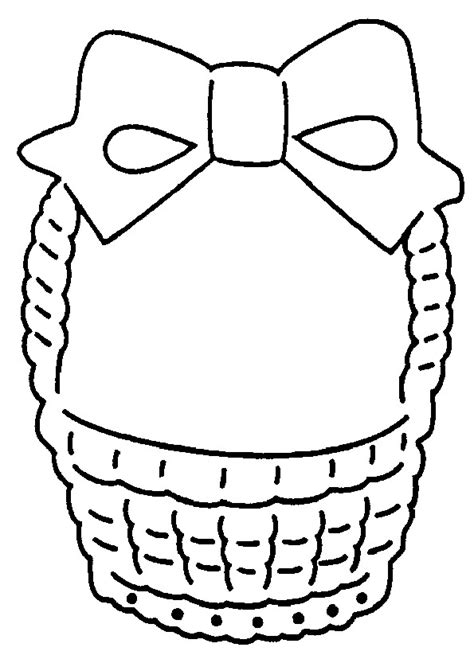 easter basket template printable clipart best