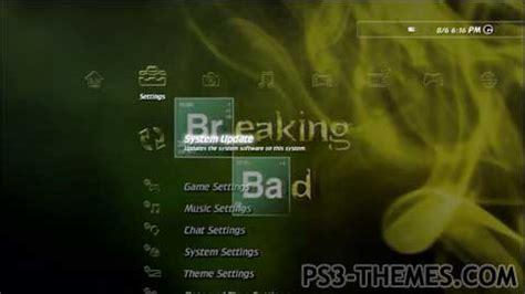 theme google chrome breaking bad ps3 themes 187 breaking bad animated