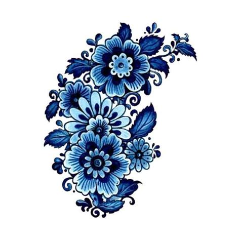 blue flower tattoo 17 best images about tatt n p3rat 0n on