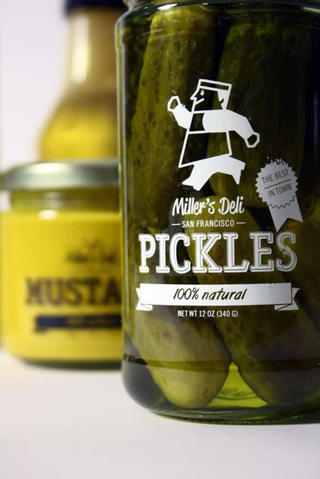 kilhaney s pickle label design on behance 89 best client reference images on pinterest graphics