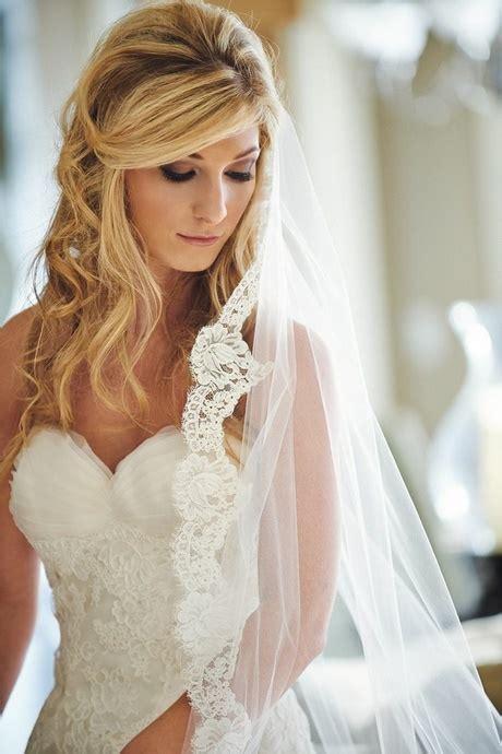 Brautfrisuren Mit Schleier Offene Haare by Brautfrisur Offene Haare Mit Schleier