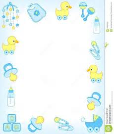 Border including carriage safety pins pacifier feeding bottle duck