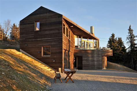 Ski Cabin Design by Modern Ski Lodge In Kvitfjell Twisted Cabin