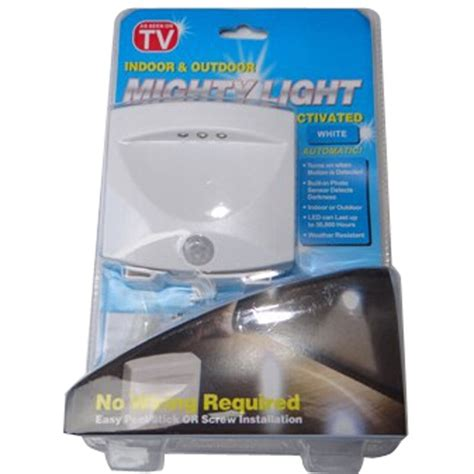 As Seen On Tv Lights by Mighty Light As Seen On Tv Indoor Outdoor Motion Sensor