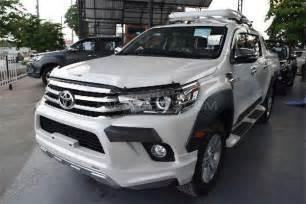 Toyota Vigo Toyota Hilux Vigo Ch G 2016 For Sale In Karachi Pakwheels