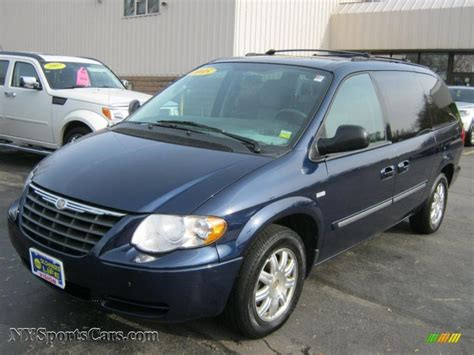 2005 Chrysler Town And Country by 2005 Chrysler Town Country Touring In Midnight Blue