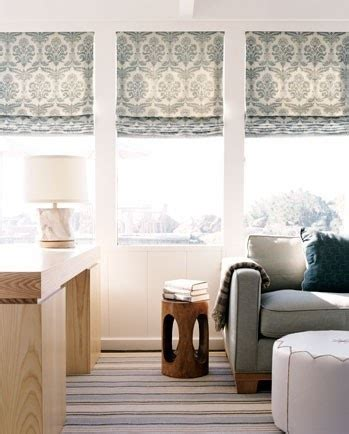 patterned fabric roman shades beautiful roman shades window treatments pinterest