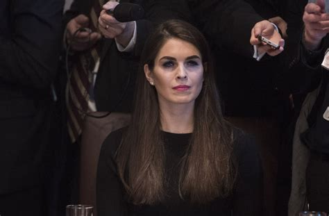 white house communications director interim white house communications director hope hicks has