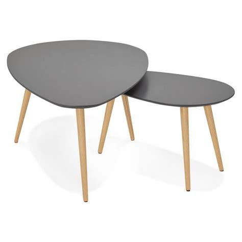 Tables Gigognes En Bois 4514 by Table Basse En Bois Fonce Ezooq