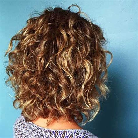 layered permed bob cuts curly layered pinteres