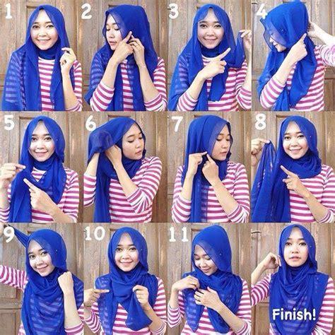 Cara Model Kerudung tutorial cara memakai kerudung dengan mudah jilbab instan
