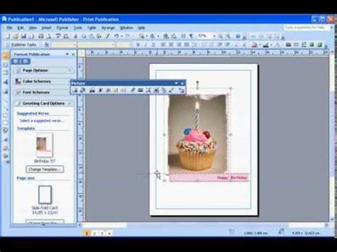 membuat kartu nama dengan microsoft office publisher 2007 cara membuat kartu ucapan selamat ulang tahun pada