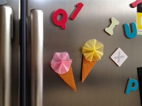 Handmade Fridge Magnets Ideas - gelato fridge magnets my kid craft