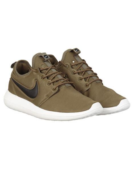 nike roshe two shoes iguana black footwear from