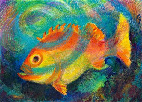 Colorful Fish Heni S Happy Paintings