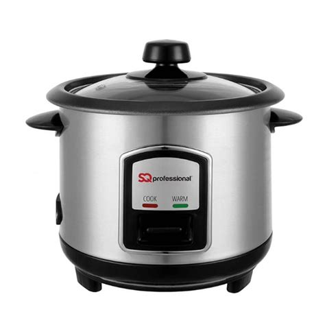 Rice Cooker Stainless Steel Sanken sq professional sq professional stainless steel rice cooker tj hughes