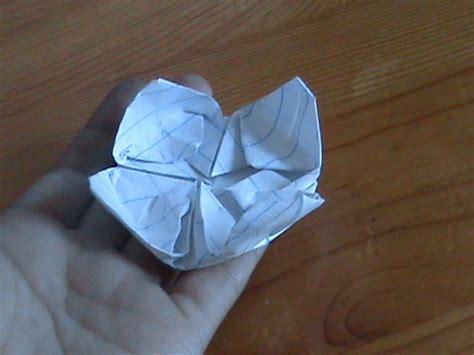 Floating Origami - origami floating lotus
