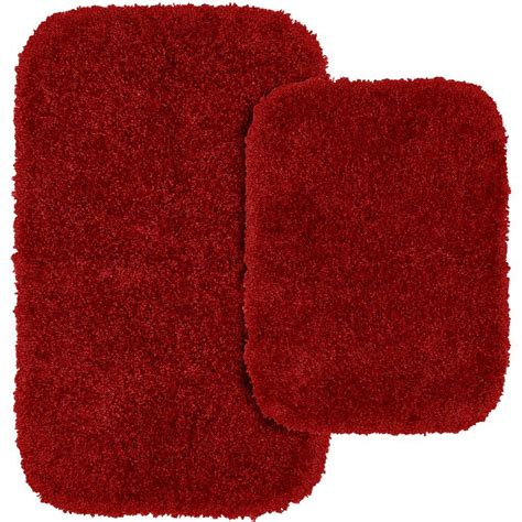chili pepper rugs garland rug serendipity chili pepper 21 in x 34 in washable bathroom 2 rug set ser