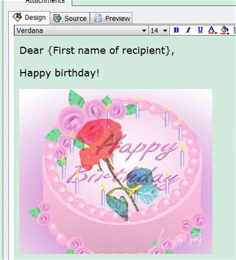 Free Birthday Cards To Email How To Send An Ecard In Ams Birthday Edition Automailer