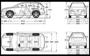 Volvo Xc90 Measurements Volvo Xc60 Dimensions