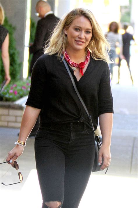 Hilary Duff Is The New Vaseline by Hilary Duff In The Set Of Younger In New York 06 15 2016