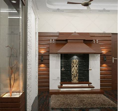 Interior Design Mandir Home by Designing The Space Prayer Pooja Room