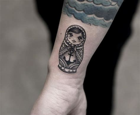 russian tattoo placement 37 best matryoshka tatoo images on pinterest