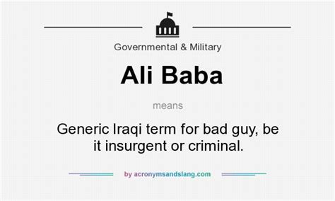 alibaba meaning what does ali baba mean definition of ali baba ali