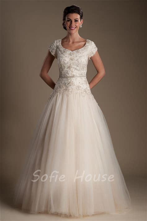 colored wedding dress chagne colored wedding dresses with sleeves discount