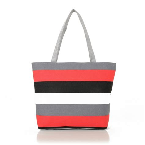 016 new fashion canvas bag shoulder tote
