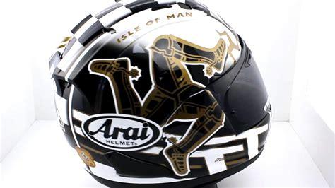 Arai Rx7x Isle Of Iom Tt 2017 Limited Edition arai rx 7v tt 2017 motorcycle helmet thevisorshop