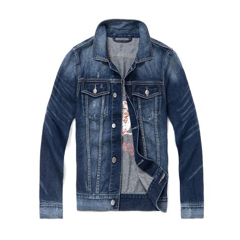 pattern jeans jacket fall and winter indians pattern denim jackets for men