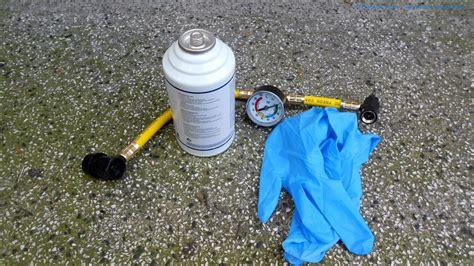 Auto Klimaanlage Bef Llen by Klimaanlage R134a Selber Nachf 252 Llen Bef 252 Llen Diy