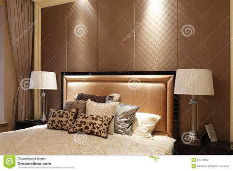 bed back design simple bedroom in the apartment stock photo image 51771082