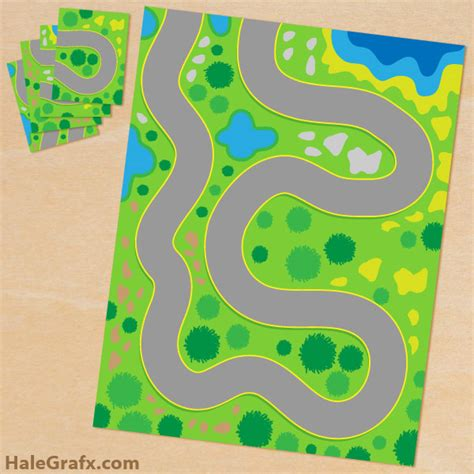 printable road maps for toy cars free printable play mat for toy cars