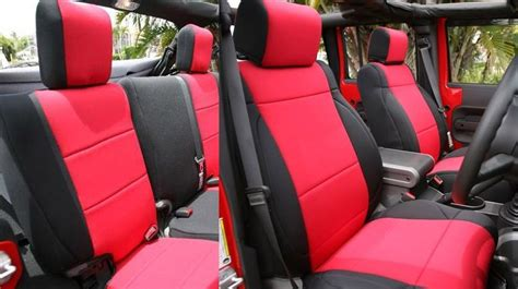 2007 Jeep Grand Seat Covers Jeep Wrangler 2007 10 Unlimited Rubicon Neoprene Set