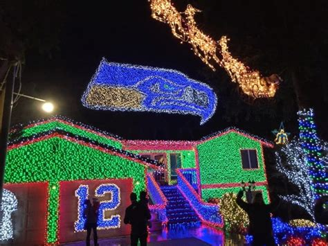 christmas decor seattle 10 houses with the best displays in washington