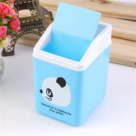 mini trash can for desk plastic dustbin trash cans mini table desk waste container rubbish bin oe ebay