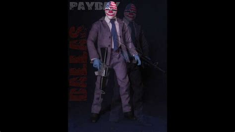 payday 2 figures payday dallas 12 inch figure