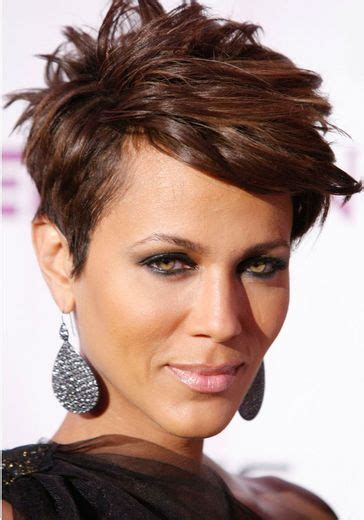 nicole mitchell short curly hairstyle for black women 284 best images about hair on pinterest cute short