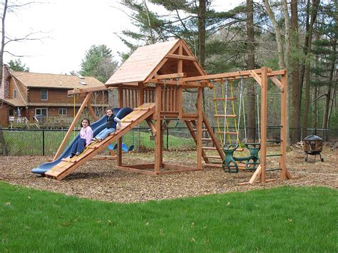 swing set plans backyard swing set plans outdoor goods