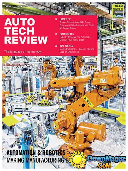 Auto Tech Review   November 2014 » Download PDF magazines