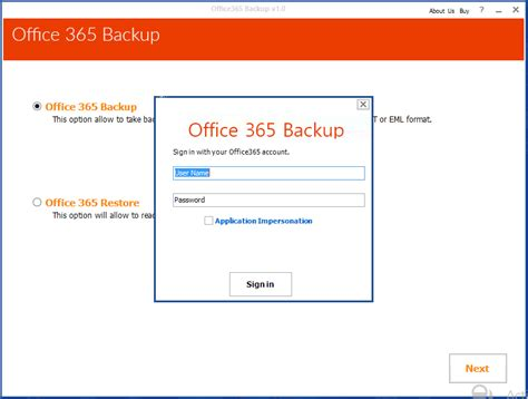 Office 365 Archive by Office 365 Backup Tool Archive Mailbox To Outlook Pst On