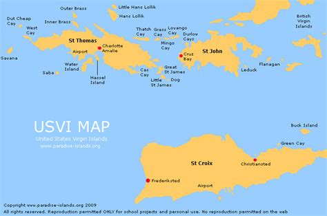 us islands map st usvi moving toward visa free travel for caricom nationals