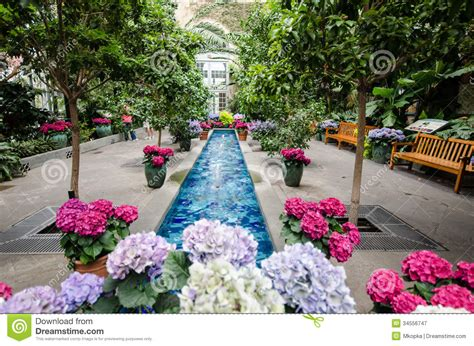 Inside The United States Botanical Garden Stock Image Washington Botanical Gardens Hours