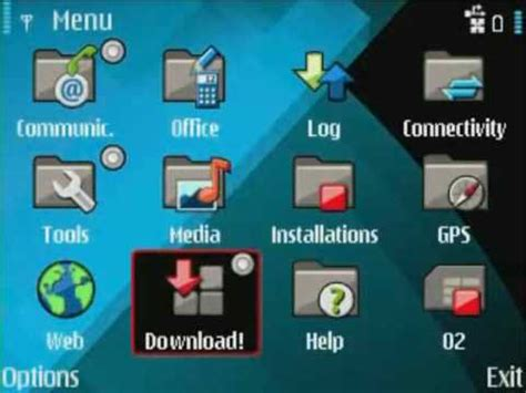 install themes nokia e71 how to install ovi store on the nokia e71 youtube